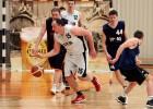"""Foto: """"SEB bankas"""" basketbolistiem panākums Banku kausa spēlē ar """"ABLV bank"""""""