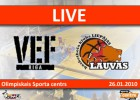 LIVE: VEF Rīga - Liepājas Lauvas