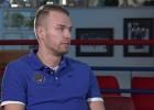 """Video: Gulbis par """"Ventspils"""" sezonu, gatavību pusfinālam, karjeru"""