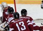 Latvija IIHF rangā noslīd uz 12. vietu, nākamā PČ grupas vēl neskaidras