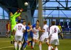 Latvijas U17 izlase negūst vārtus arī pret Slovākiju