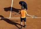 Tiesneša kļūda salauž Gofānu labi sāktajā mačā pret Nadalu
