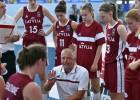 U-18 meitenēm viena laba ceturtdaļa un zaudējums pret Lietuvu