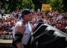 Nedēļas nogalē Krāslavā un Līvānos - spēkavīru strongatlons