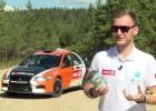 """Video: Nitišs piedalās testos pirms starta rallijā """"Latvija"""""""