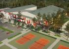 """Uzsāk apjomīgu tenisa centra """"Lielupe"""" pārbūvi"""