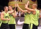 """""""Rīga Ghetto Basket"""" 3x3 basketbolisti Debrecenā iekļūst Pasaules tūres ceturtdaļfinālā"""
