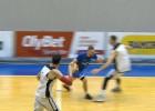 """Video: """"Ventspils"""" sīvā galotnē piekāpjas """"Lietkabelis"""" basketbolistiem"""