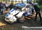 """Video: Somu ekipāža iznīcina """"Subaru"""" automašīnu"""