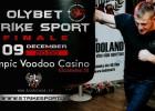 """Rīgā norisināsies """"Strike Sport OlyBet Grand Prix 2017"""" fināls"""