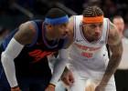 """Porziņģis nespēlē, Bīzlijam 30 punkti, """"Knicks"""" pārspēj """"Thunder"""""""