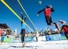Klāt pirmais LČ Sniega volejbolā, uzvarētāji kvalificēsies Eiropas čempionātam