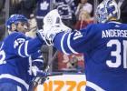 """""""Maple Leafs"""" uzvarā Andersens atvaira 54 metienus un Kadri sakrāj piecus punktus"""