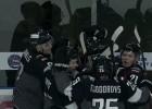 """Video: HK """"Rīga"""" hokejistiem gandrīz izdodas atspēlēties pret """"Kapitan"""""""