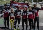 Latvijai septītā vieta pasaules BMX čempionāta medaļu vērtējumā