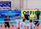 Video: Latvijas volejbolisti Eiropas sudraba līgas pusfinālā zaudē Baltkrievijai