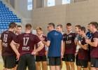 Latvijas U-20 handbolisti lūkos turpināt uzvaru sēriju Eiropas čempionātā