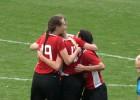 """Video: """"Liepāja"""" ne bez grūtībām uzveic Rīgas Futbola Skolu-1 un iekļūst Latvijas kausa finālā"""