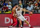 Strēlniekam 13 punkti pēc kārtas, Latvija pēdējā sekundē nenoķer Spāniju