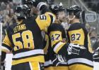 """Krosbijs spēlē, Bļugers ne, """"Penguins"""" iemet septiņas ripas Kolumbusai"""