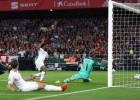 Angļi pirmajā puslaikā panāk 3:0 pret Spāniju, Igaunijai ar trīs vārtiem uzvarai nepietiek