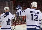 """""""Maple Leafs"""" uzbrukums kļūst vēl bīstamāks: Nīlanders sezonas debijā spēlēs kopā ar Metjūzu"""