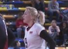 Video: Latvijas volejbolistes noslēdz kvalifikācijas turnīru ar zaudējumu spānietēm