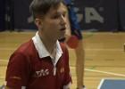 Video: Daniels Kogans pusfinālā piekāpjas Levandovskim un pabeidz turnīru 3.vietā