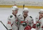 """Video: """"Liepājas"""" hokejisti nosargā uzvaru pret """"Prizmu"""""""
