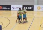 """Video: """"Saaremaa"""" revanšējas """"Jēkabpils Lūšiem"""", sērijas liktenis izšķirsies 3.spēlē"""