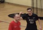 """Video: """"RSU/BAO-Dobele"""" iesit 100.vārtus sezonā un uzvar Austrumu konferences līderu divcīņā"""