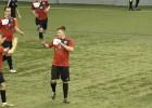 """Video: Balvu Sporta Centra futbolisti rezultatīvā mačā apspēlē """"Alberts"""" vienību"""