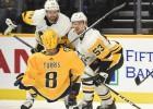 """Bļugeram noraidījums """"Penguins"""" uzvarā bullīšos, Balceram -1 Otavas sakāvē"""