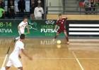 Video: U19 futzāla izlasei atzīstams sniegums un neizšķirts pret Turciju