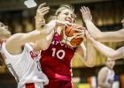 Visu netrāpīto metienu puslaiks liedz U18 meitenēm uzvarēt Krieviju