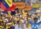"""Kolumbieši dominē Alpu augstkalnē, Alafilips joprojām """"Tour de France"""" līderis"""