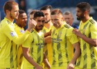 """""""Ventspils"""" dominē spēles otrajā daļā un izdemolē nevarīgo """"Gżira United"""" aizsardzību"""