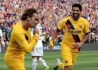 """Grīzmans iesit pirmos vārtus """"Barcelona"""" sastāvā, palīdzot sagraut """"Napoli"""""""