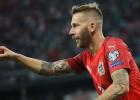 """""""Schalke"""" uzbrucējs Burgštallers pirms spēles pret Latviju beidz karjeru Austrijas izlasē"""