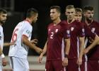 Latvijas frontē bez pārmaiņām: sausais zaudējums arī pret Ziemeļmaķedoniju