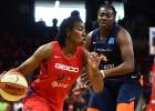 """""""Mazā nāriņa"""" beidzot izšauj, """"Mystics"""" uzvar pirmajā WNBA finālspēlē"""