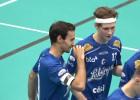 """Video: Stivriņš un Rajecki kaldina """"Lekringa"""" uzvaru pār čempioniem"""