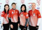 Latvijas jauktā kērlinga izlase pasaules čempionātu uzsāks pret Kazahstānu