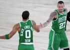 """""""Celtics"""" sagrauj """"Raptors"""" Austrumu grandu spēlē, Rietumos saasinās situācija"""