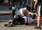 "Foto: Kazeļņiks ""World's Strongest Man"": 1. diena"
