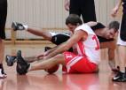 "Foto: Banku basketbola kauss startē ar ""SEB bankas"" uzvaru"