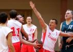 """Foto: """"Citadeles"""" basketbolisti pārspēj """"Latvijas Krājbanku"""""""