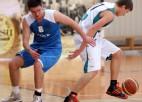 """Foto: """"Nordea bankas"""" basketbolistiem otrais panākums trijās spēlēs Banku kausā"""