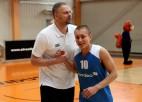 """Foto: Banku kausa konkursos uzvar """"Nordea"""" basketbolisti, Helmanis paliek nepārspēts"""