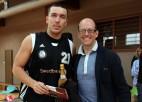 Foto: Banku kausa labākie basketbolisti un komandas saņem balvas
